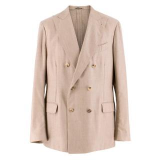 Lardini Beige Cashmere Jacket