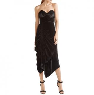 Preen strapless black Alexa dress