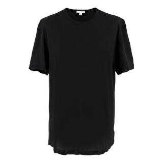 James Perse Black Cotton T-shirt