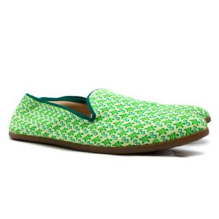Galet 'Turtles & Shades' Print Cotton Loafers