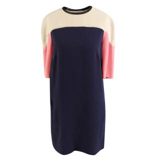 Diane Von Furstenberg Colour-Block Shift Dress