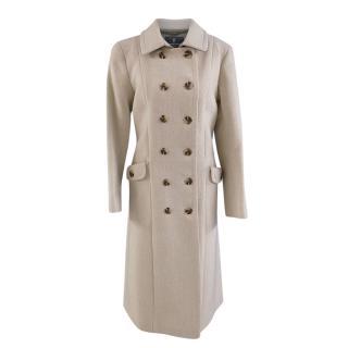 Katherine Hooker Stone Wool Coat