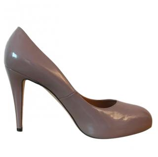 Brian Atwood patent leather pumps