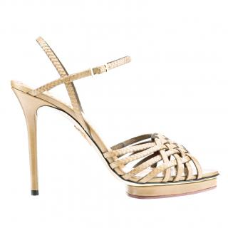 Charlotte Olympia Louise platform sandals