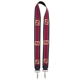 Fendi Zucca FF bag shoulder strap