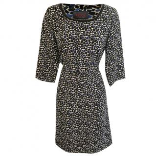 Avoca Anthology square-print dress