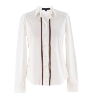 Gucci Cotton-blend Web Stripe Shirt
