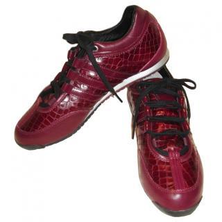 Yohji Yamamoto for Adidas Red Sneakers