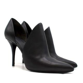 Alexander Wang Leva D'Orsay Leather Pumps in Black