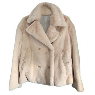 Golden Goose Deluxe Brand Faux Fur Coat