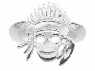 Gina Stewart Cox Diamond Skull Ring