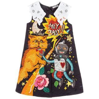 Dolce & Gabbana Girl's Space love Mini Dress
