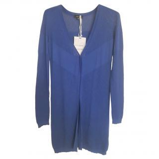 MaxMara cobalt-blue cardigan