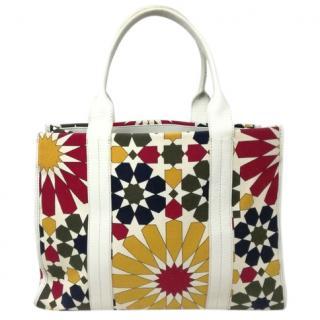 Furla Floral Print Tote Bag