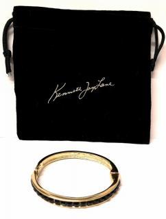 Kenneth Jay Lane stone-encrusted bangle