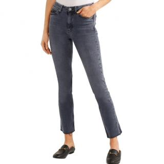 MIH Daily raw-hem skinny jeans in Chippy wash