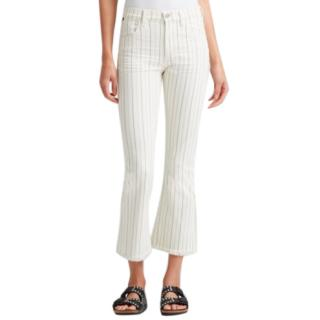 Citizens of Humanity Drew Fray high rise crop flare jeans