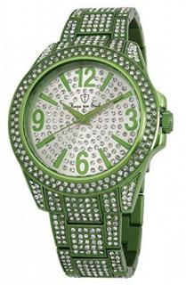Hugo von Eyck Green Crystal Quartz Watch