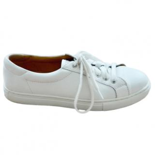 Polo Ralph Lauren White Low-Top Snealers