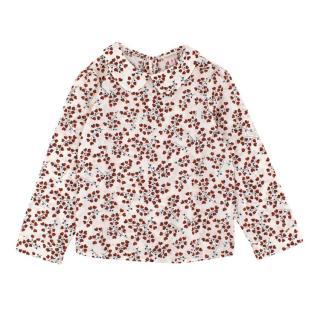 Bonpoint Girls Floral Print Top