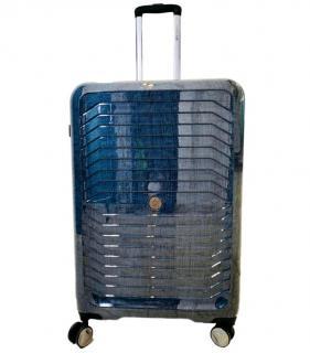 Roberto Cavalli Blue Lightweight Suitcase