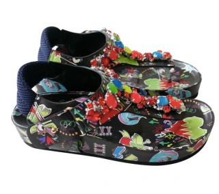 Suecomma Bonnie multi  coloured embellished sandals