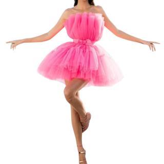 Giambattista Valli x H&M hot pink tull mini dress - Sold out