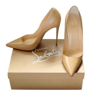 Christian Louboutin Nude So Kate 120 Pumps