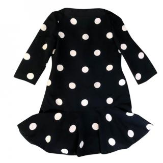 Kate Spade polk dot print dress