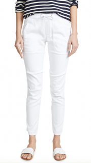 James Perse Ivory Trousers