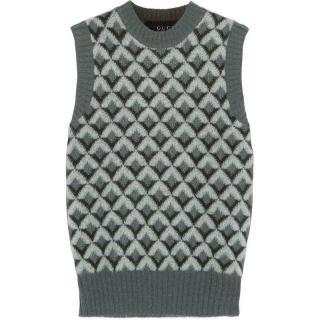 Gucci sleeveless mohair-wool blend sweater