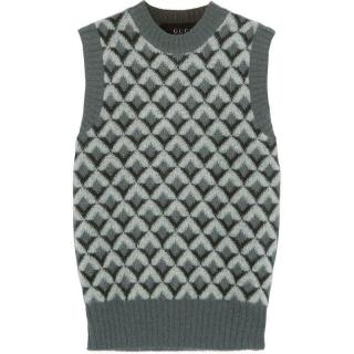 Gucci sleeveless mohair-wool blend sweater