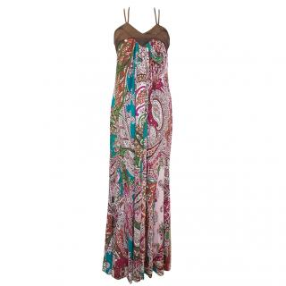 Just Cavalli Printed Multi-Colour Dress