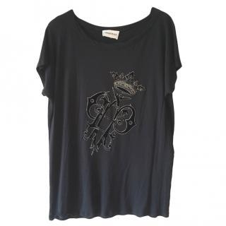 Emilio Pucci crest-applique T-shirt