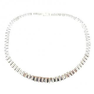 Chimento Unica Yellow & White Gold Diamond Necklace