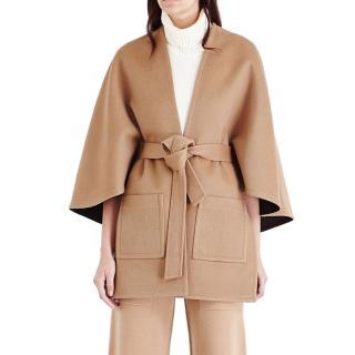 Pringle tie-waist wool & cashmere-blend coat