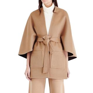 Pringle tie-waist wool & cashmere-blend coat