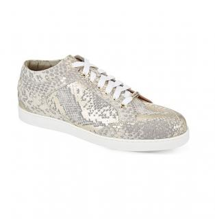 Jimmy Choo Miami Suede Low-Top Trainers