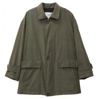 Givenchy Vintage Khaki Men's Coat