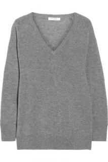 Frame grey V-neck sweater