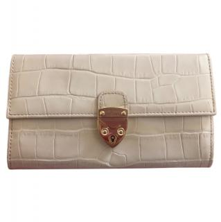 Aspinal of London Mayfair Taupe Purse
