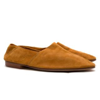 Mr. Hare Tan Arno Slip On Suede Loafers