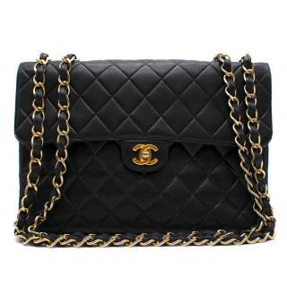 Chanel Vintage Black Classic Flap Bag