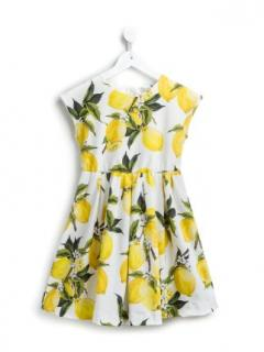 Dolce & Gabbana Lemon Print Dress