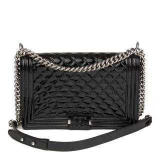 Chanel Le Boy Medium quilted leather shoulder bag