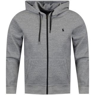 Polo Ralph Lauren Grey Logo Zip Hoodie
