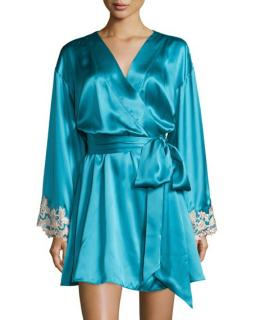 La Perla maison turquoise robe
