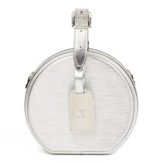Louis Vuitton Epi Leather Silver Petite Boite Chapeau