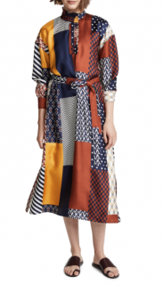 Tory Burch Bianca Patchwork Dress