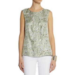 Tory Burch 'Frida' Silk Top